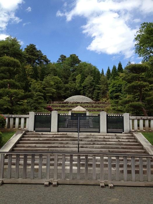 御朱印ガールをアップデートせよ!神社仏閣の次は陵墓だ!